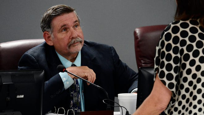 """Gary Anderson has served on the Williamson County school board since 1990. """"I still get excited about this stuff, after all these years, over the things we do, the positive things we do. I still love it. I still love it,"""" he said."""