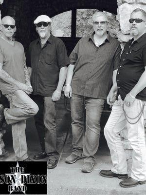 The Mason Dixon Band (from left): Tony Jackson, Rick Hendry, Dan Harmon, Raymond Klok.