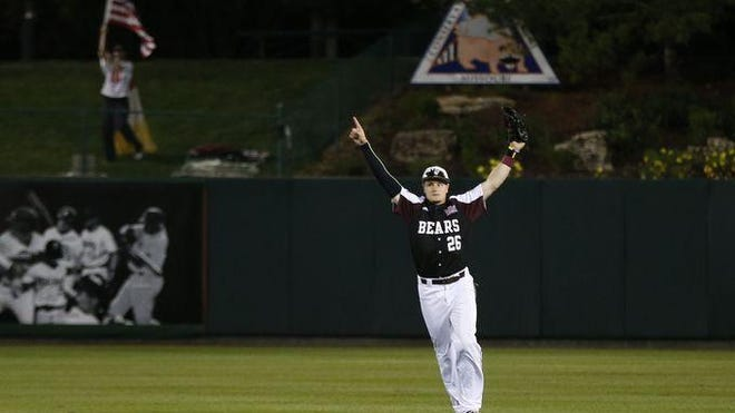 Tate Matheny and the Missouri State Bears will be playing in a sold-out Baum Stadium at Arkansas.