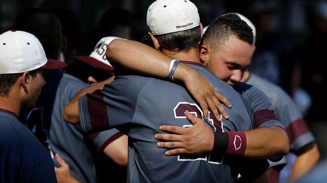 Missouri State's season came to an end one victory shy of the College World Series, in a 3-2 loss at Arkansas in the deciding game of the NCAA Super Regional.