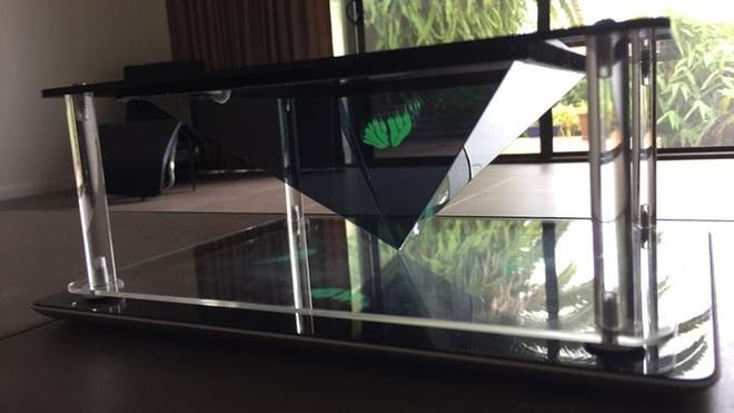 Holo is an entry-level hologram projector that works with smartphones and tablets.