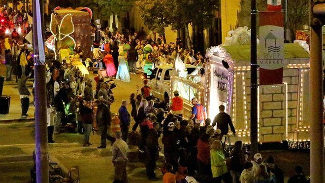 Join the Krewe of Janus Mardi Gras parade as it rolls through the Twin Cities at 6 p.m. Saturday.
