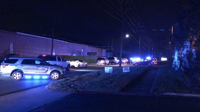 Police respond to Remedies restaurant and nightclub in Gastonia on Thursday, Nov. 12, 2020, where six people, including two off-duty police officers, were shot.