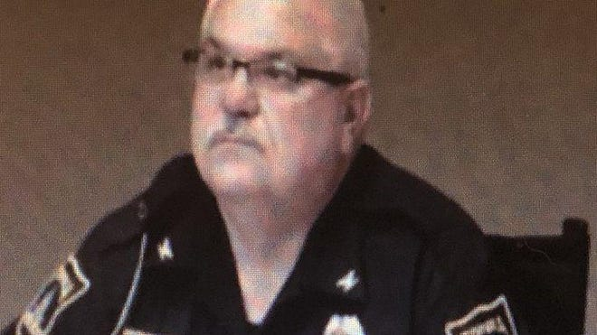 Topeka Police Chief Bill Cochran spoke at Tuesday evening's meeting of the Topeka City Council.