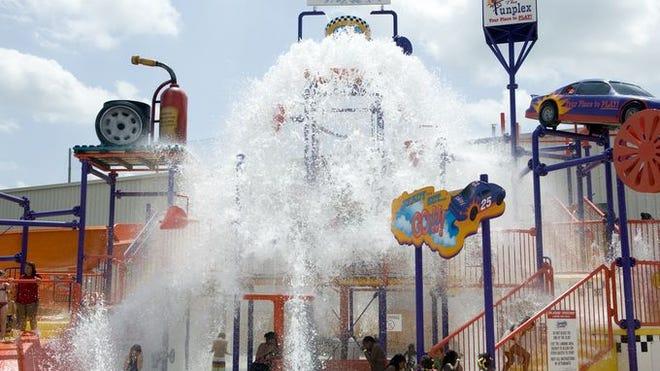 Can't-mist entertainment: The Splashin' Speedway at the Funplex in Mount Laurel.