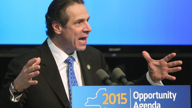 Gov. Andrew Cuomo speaks about the Upstate Revitalization Program, which pledges 1.5 Billion to upstate cities.