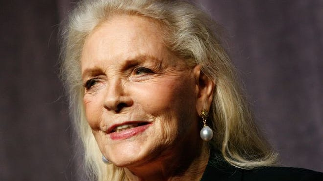 Lauren Bacall at the Toronto International Film in 2007.