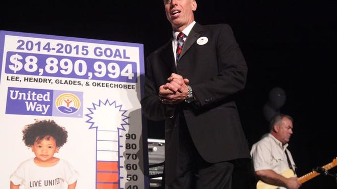 United Way is well on its way to exceeding its overall goal, which is about $400,000 more than last year.