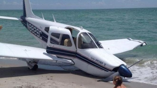 A single-engine plane crashed on the beach in Venice, Fla., on July 27, 2014, killing Army Sgt. Ommy Irizarry, 36, and his 9-year-old daughter Oceana.