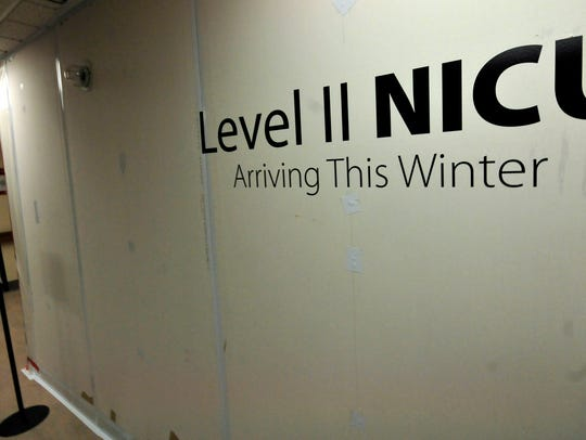 A new Neonatal Intensive Care Unit is under construction