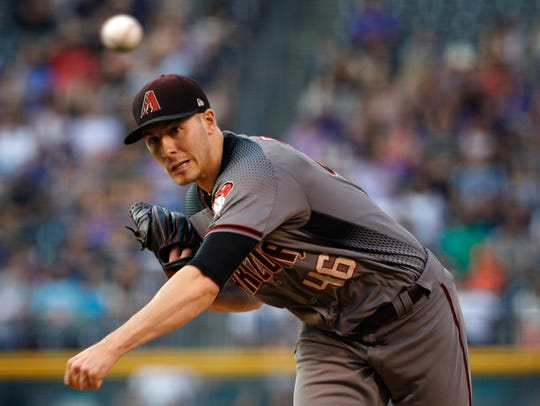 Starter Patrick Corbin is just one piece of the Diamondbacks'