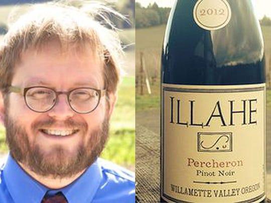 Brad Ford is winemaker at Illahe Vineyards recommends pairing 2012 Illahe Vineyards Percheron Pinot Noir.