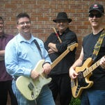 "Brett Wellman and the Stone Cold Blues Band play at Saturday's ""Blues & BBQ"" event at the American Legion Hall."