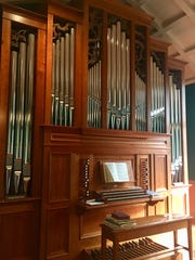 You might not expect to find a pipe organ at a farm,