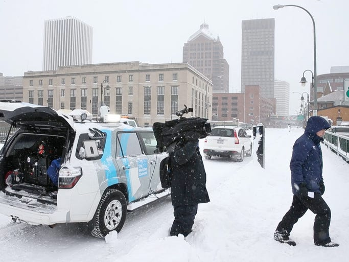 The Weather Channel meteorologist Mike Seidel goes