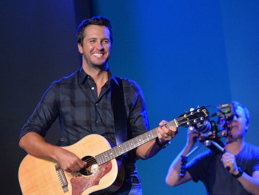 Behind The Scenes With Luke Bryan Filming Music Choice's Take Back Your Music Campaign