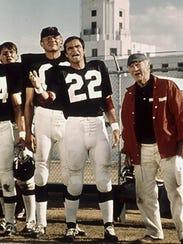 Michael Conrad, Burt Reynolds and John Steadman appeared