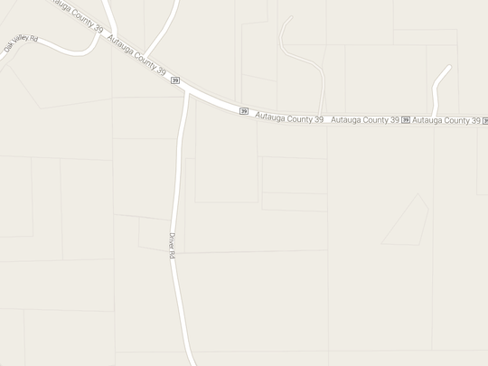 Authorities are searching in the Driver Road area off of County Road 39 in Autauga County.