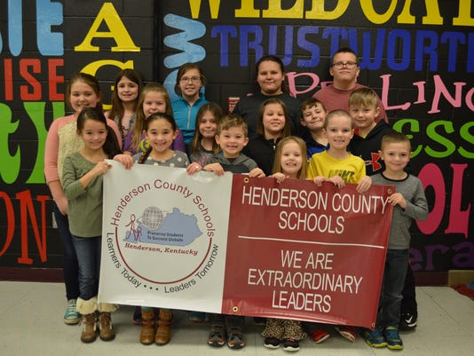 Niagara Elementary January leaders of the month