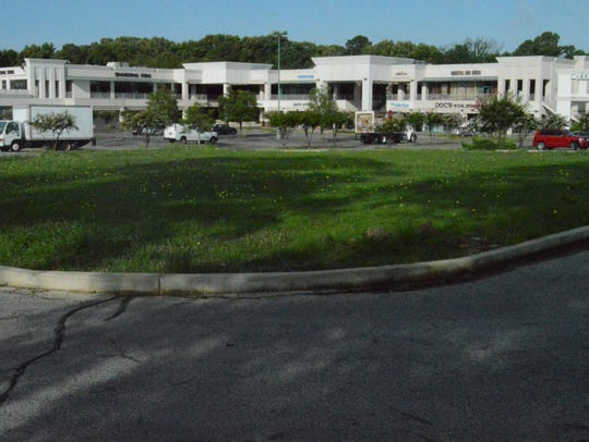Romano's Macaroni Grill restaurant stood in the northeast corner of the property until it burned in 2015. Developers begin phase one on that corner of the property.
