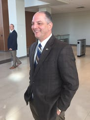 Gov. John Bel Edwards toured the Cyber Innovation Center