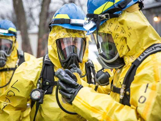 The Delaware County Hazardous Materials Team continued