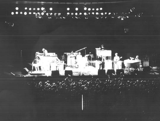 1979: The Beach Boys at the Iowa State Fair Grandstand.