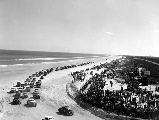 Ormond Beach Florida Auto Race