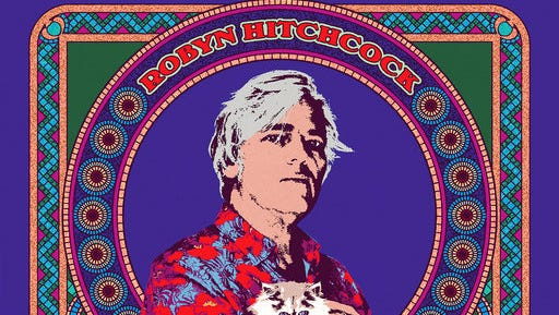 This cover image released by Yep Roc Records shows a self-titled album by Robyn Hitchcock.