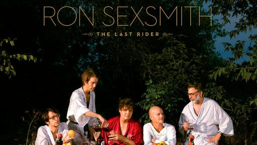 """This cover image released by Compass Records shows """"The Last Rider,"""" the latest release by Ron Sexsmith."""