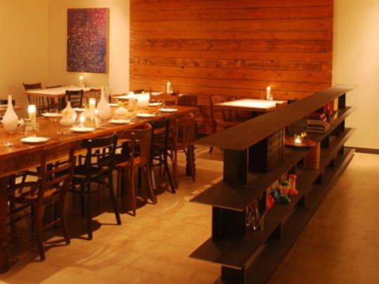 Interior of Tuck Shop in Phoenix.