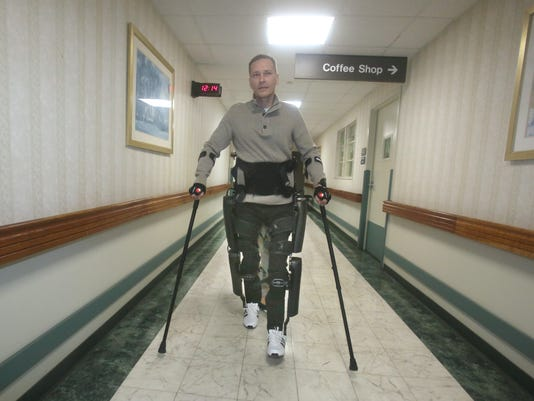 ReWalk robotic exoskeleton