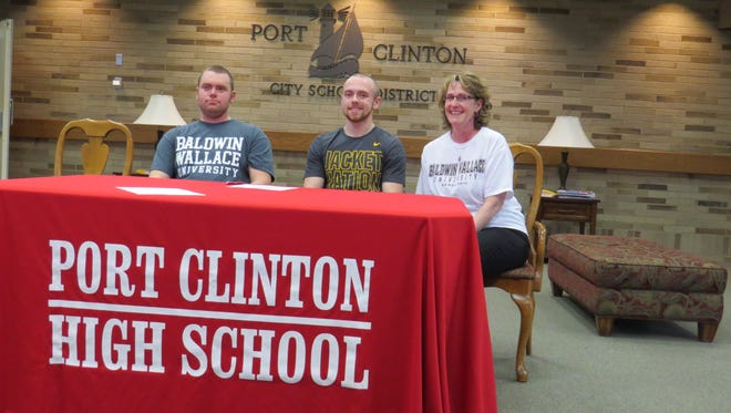Port Clinton's Drew Kopchak will continue his track career at Baldwin Wallace. Kopchak is joined by brother, Karl Kopchak, Drew Kopchak and Jo Kopchak.