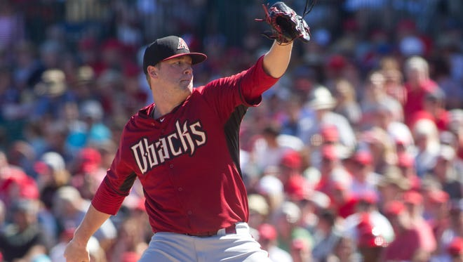 With Patrick Corbin likely out for the year, it's almost inevitable Archie Bradley joins the Arizona rotation at some point in 2014.