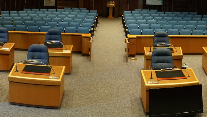 City of Wilmington Council chambers.