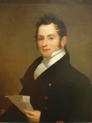 Benjamin West, Portrait of William Whitworth Moon,