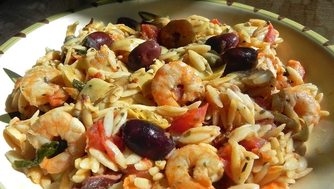 Kate's Orzo Salad