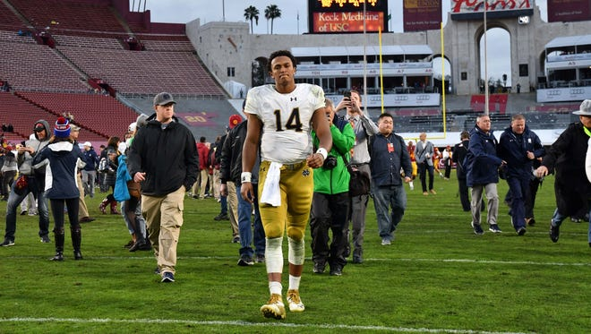 Could DeShone Kizer fall to the Cardinals at No. 45? Some writers think so.