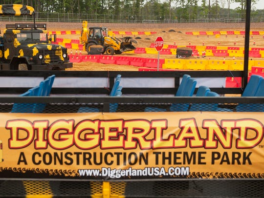 Kids can have some holiday fun at Diggerland USA in West Berlin.
