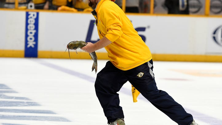 Everything you need to know about the Predators' fishy catfish tradition