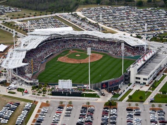 JetBlue Park is the spring training home of the Boston