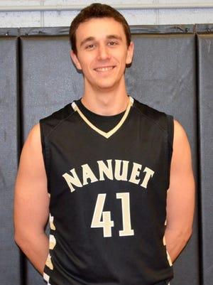 Nanuet basketball's Aedan Lombardo is this week's Journal News Rockland Scholar-Athlete of the Week
