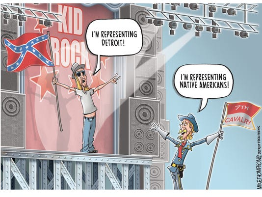 Kid Rock loves the Confederate flag