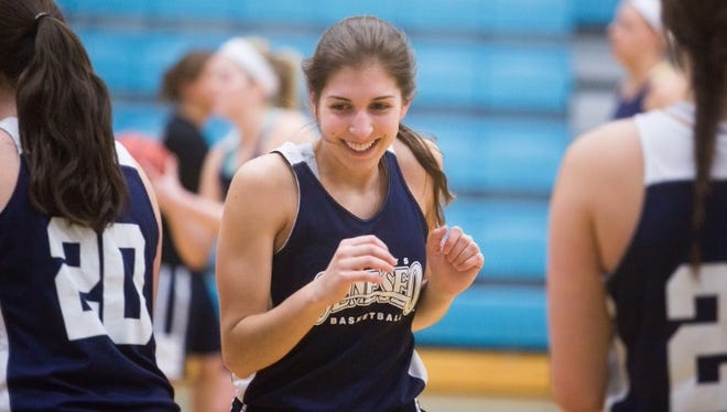 Kelsey Annese, who died on Sunday, was a backup guard for Geneseo's women's basketball team and one of its captains.