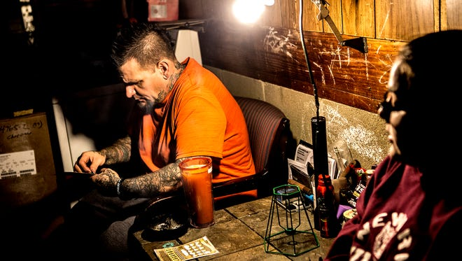 Kayleah Rector has always been a daddy's girl, especially now that her father, William Rector, is sober. Kayleah followed him out to the garage to talk while he scratched off some lottery tickets.