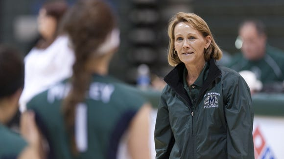 Former El Diamante girls volleyball Leslie Sorensen was recognized by the CIF as a 2015-16 Model Coach Award winner. Sorensen retired after the 2015 season.