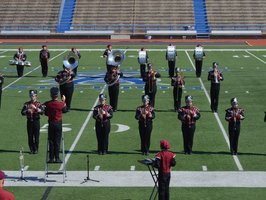 Bronte High School marching band