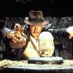 "Harrison Ford appears in a scene from the motion picture ""Indiana Jones and the Raiders of the Lost Ark."""