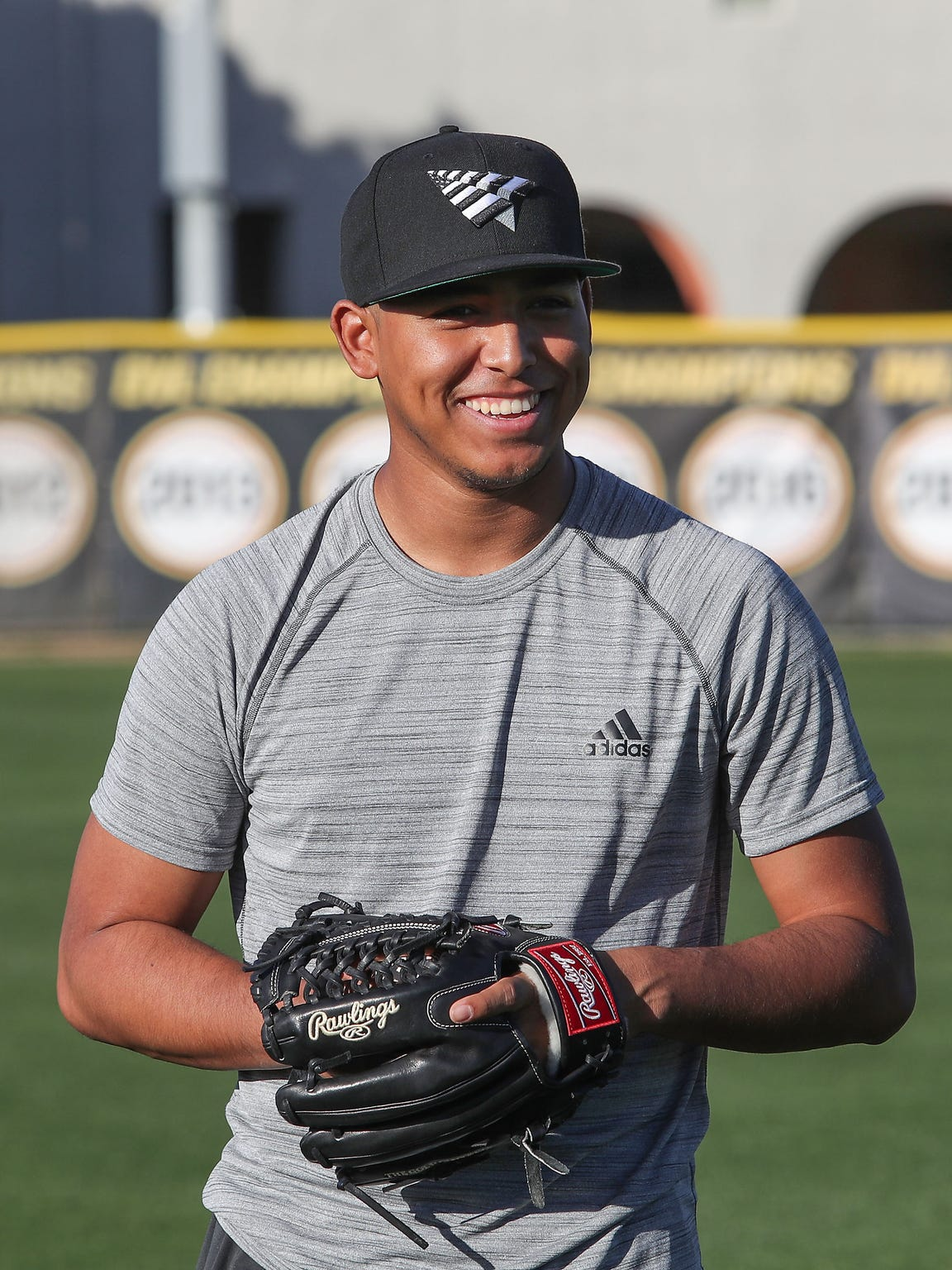 Former Palm Desert High School pitcher Jeremiah Estrada