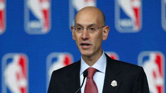Adam Silver took over as NBA Commissioner on Feb. 1.